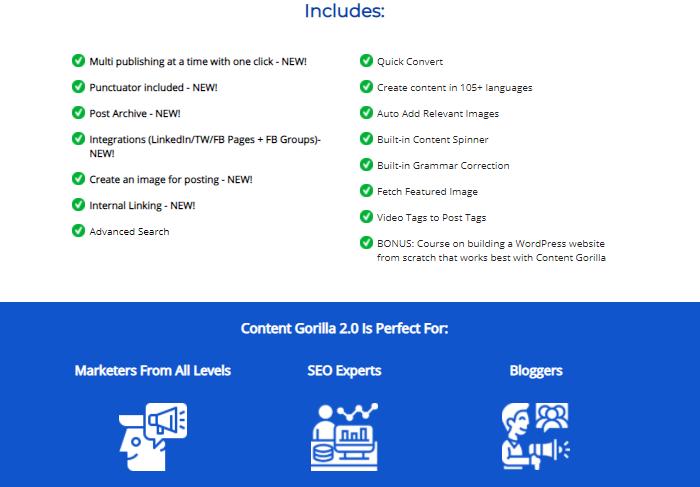 Content Gorilla 2.0 Software & OTO by Neil Napier