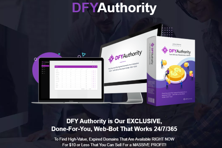 DFY Authority Software & OTO by Joshua Zamora