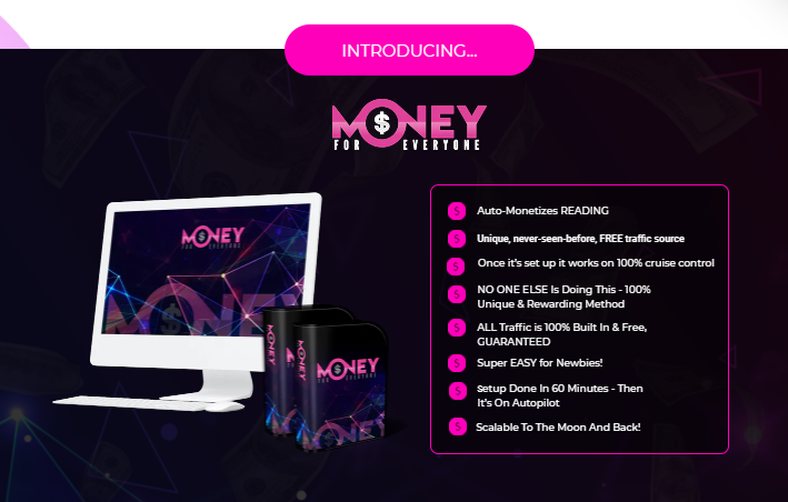 Money For Everyone App & OTO by Vick Carty