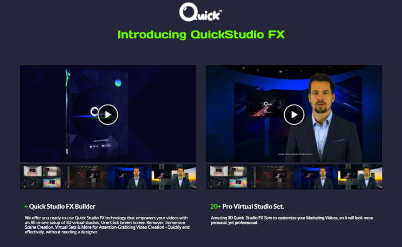 Quick Studio FX Software & OTO by Arif Chandra