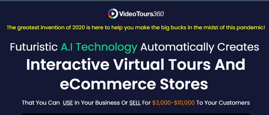 VideoTours360 App Software & OTO by Ifiok Nkem