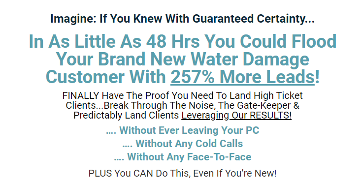 Water Damage Smart Pages & OTO by Janelle Henderson