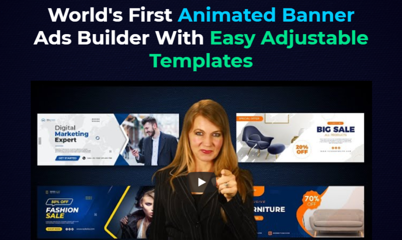 BanrAds Software Demo & Upgrade - Best Animated Image & Banner Design Studio For Online Entrepreneur that Done in seconds with Hundreds of Templates and Amazing Effects