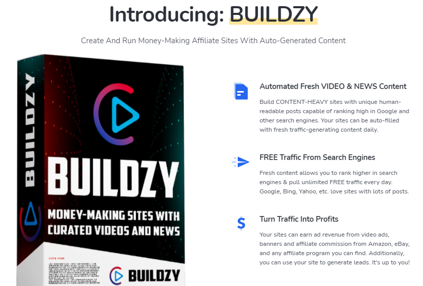 Buildzy Plugin & OTO