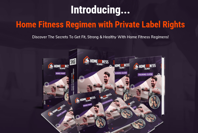 Home Fitness Regimen PLR Review + OTO - Tap Into $100 Billion Industry With This Top-Converting, High-Quality Private Label Rights Package To Resell As Your Own And Generate Massive Profits Starting Today!