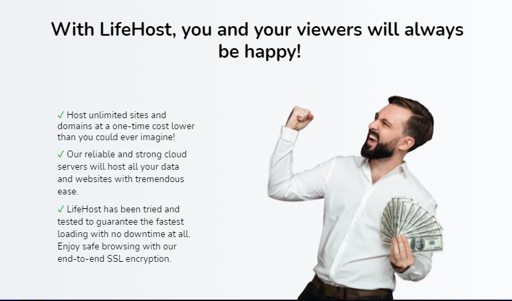 LifeHost Cloud Hosting Review + OTO