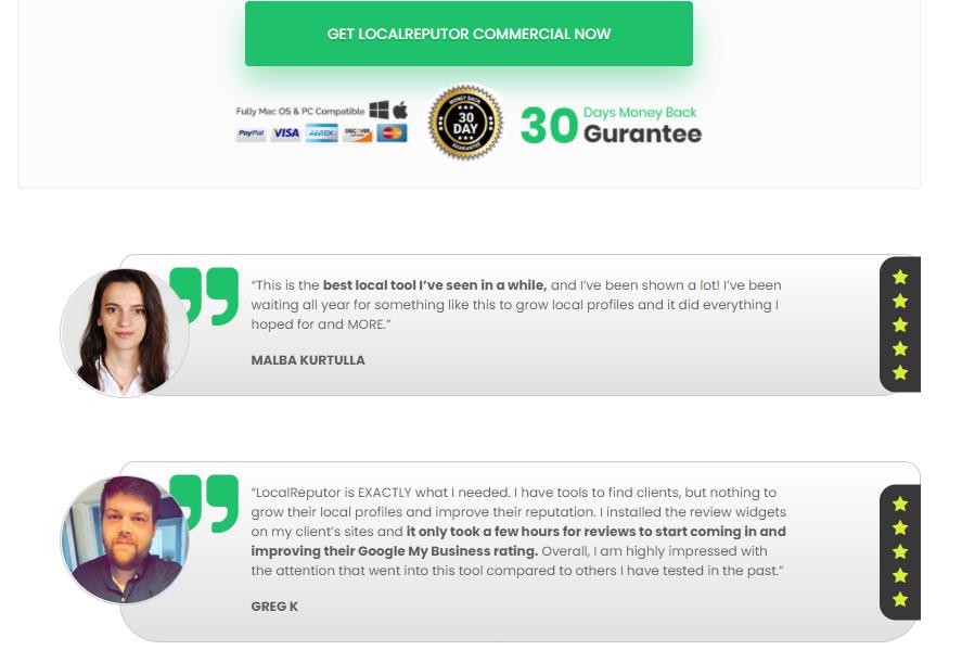 LocalReputor Software Review + OTO Upsell