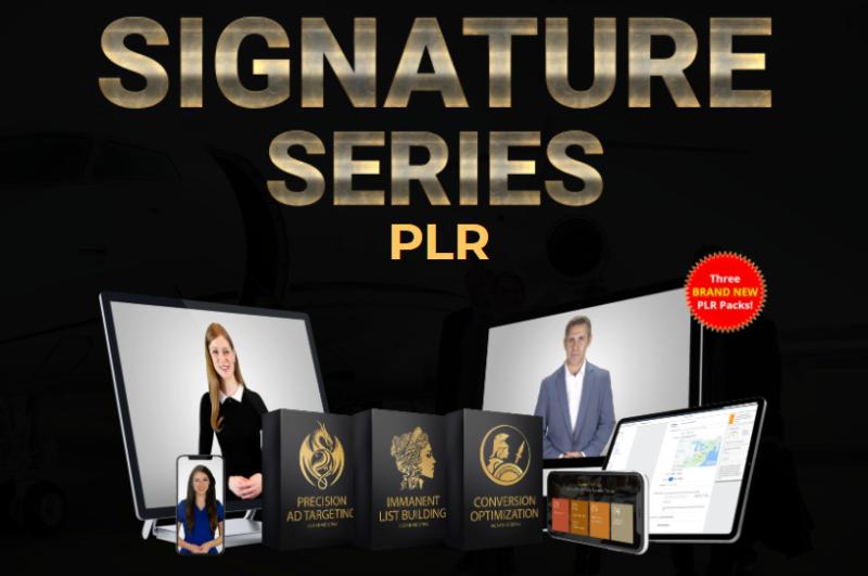 2021 Signature Series PLR Review OTO by Steven Alvey