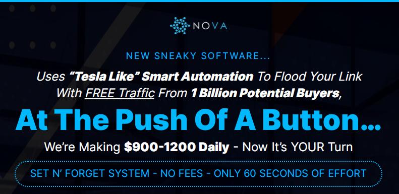 NOVA Software Review by Jono Armstrong | NOVA Software OTO UPSELL and Bonus