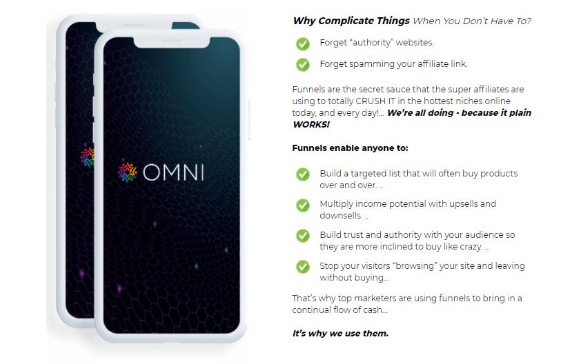 OMNI Software DFY Funnel Builder
