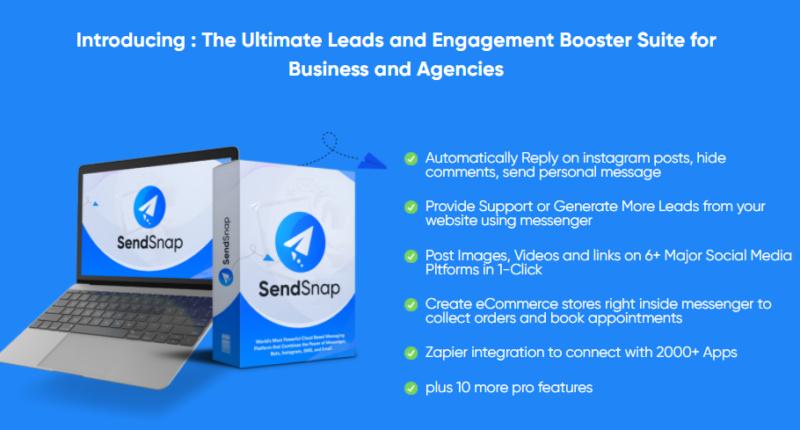 SendSnap PRO Upgrade OTO Review by Tom Yevsikov