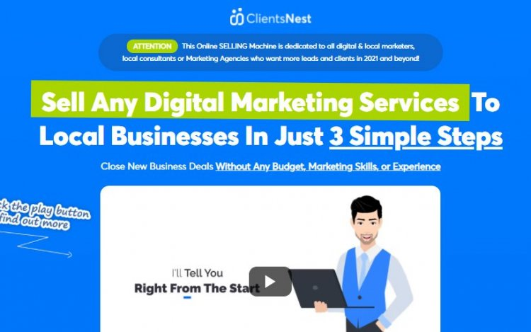 ClientsNest Software Review and OTO Upsell by Adrian