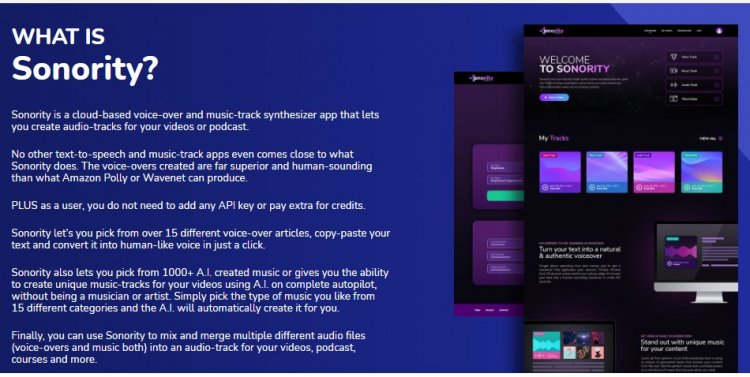 Sonority App Review + OTO UPSELL by Abhi Dwivedy