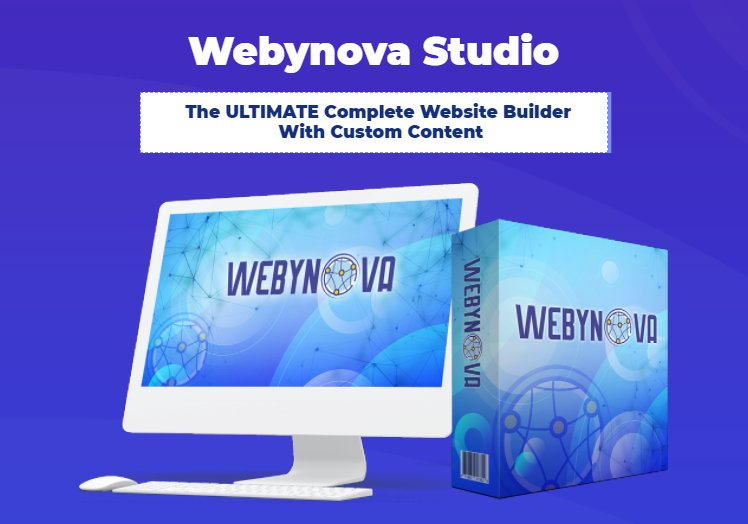 WebyNova Studio Review & OTO UPSELL by Ijlal Ahmed