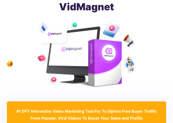 VidMagnet Interactive Video Software & OTO Review by Ugoo Carson