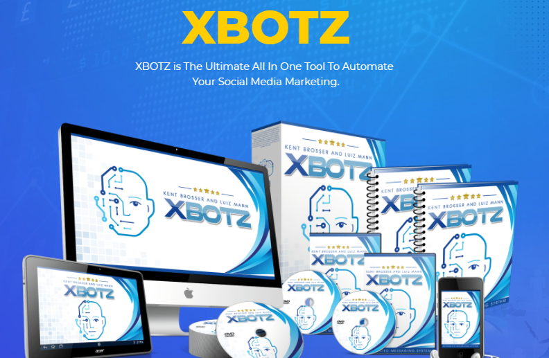 XBOTZ Social Media Marketing App & OTO Review by Anthony Rousek